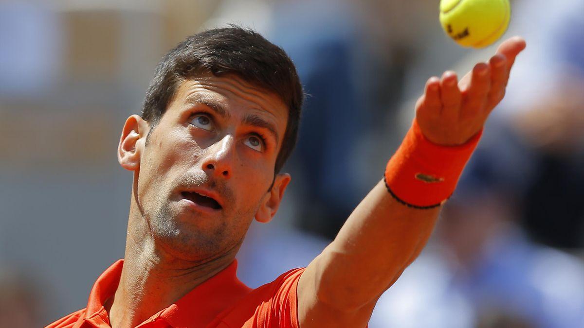 Novak Djokovic was a comfortable winner against Alexander Zverev