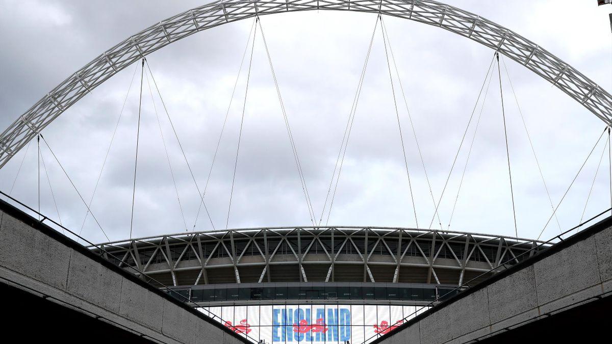 Wembley Stadium's arch