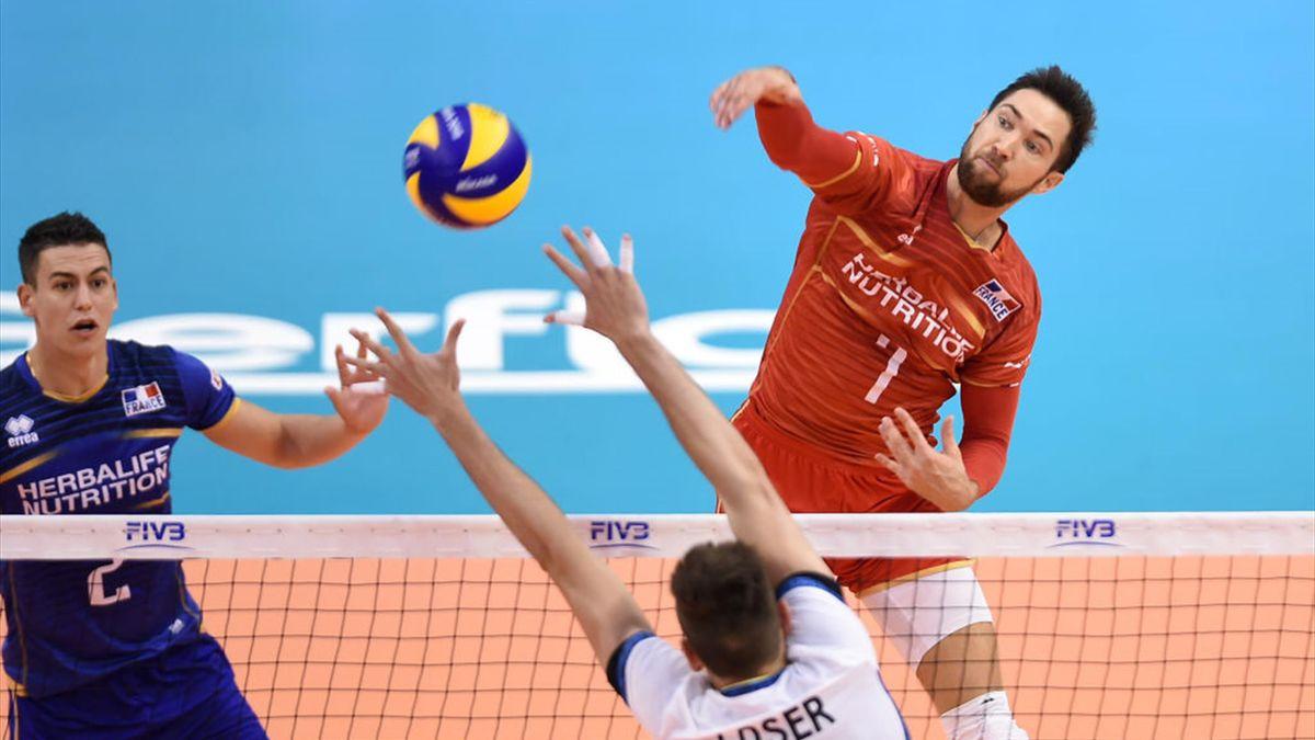 Phases de poules de la Nation League de Volley : la France 3e du classement après 4 semaines
