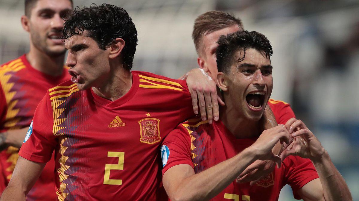 España-Francia Gol Marc Roca
