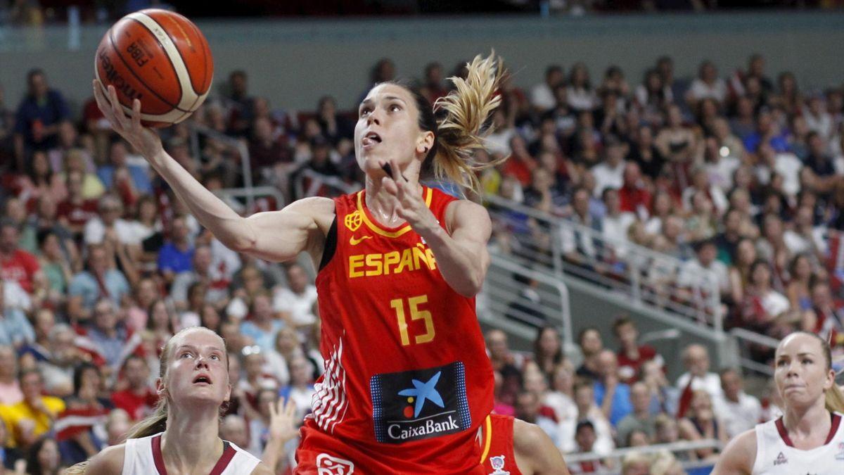 España-Letonia en el Eurobasket femenino