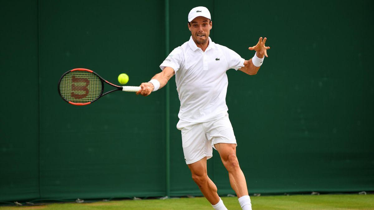 Roberto Bautista Wimbledon