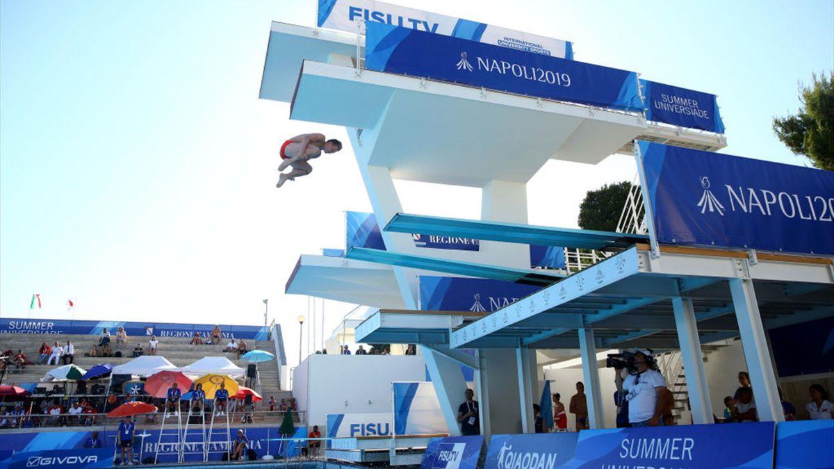 More gold medal success for China at 2019 FISU Summer Universiade in Napoli