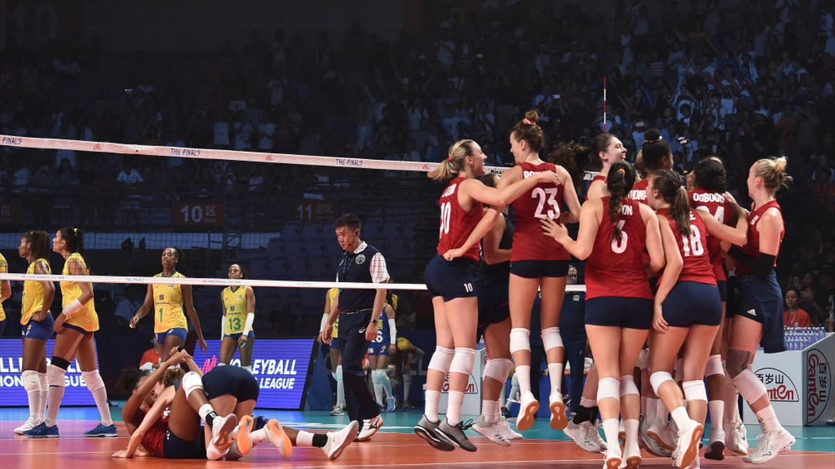 USA land back-to-back FIVB Volleyball Women's Nations League titles