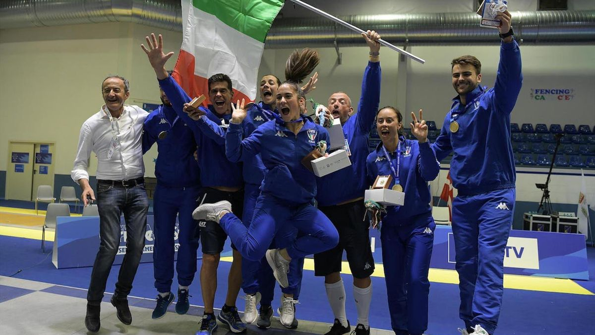 Hosts Italy secure final golds to confirm fencing domination at 2019 FISU Summer Universiade