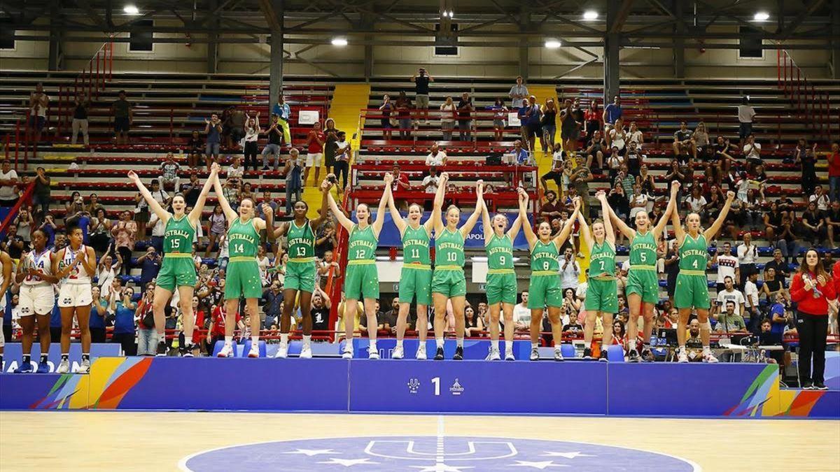 Universiadi 2019, l'Australia vince l'oro nel basket femminile
