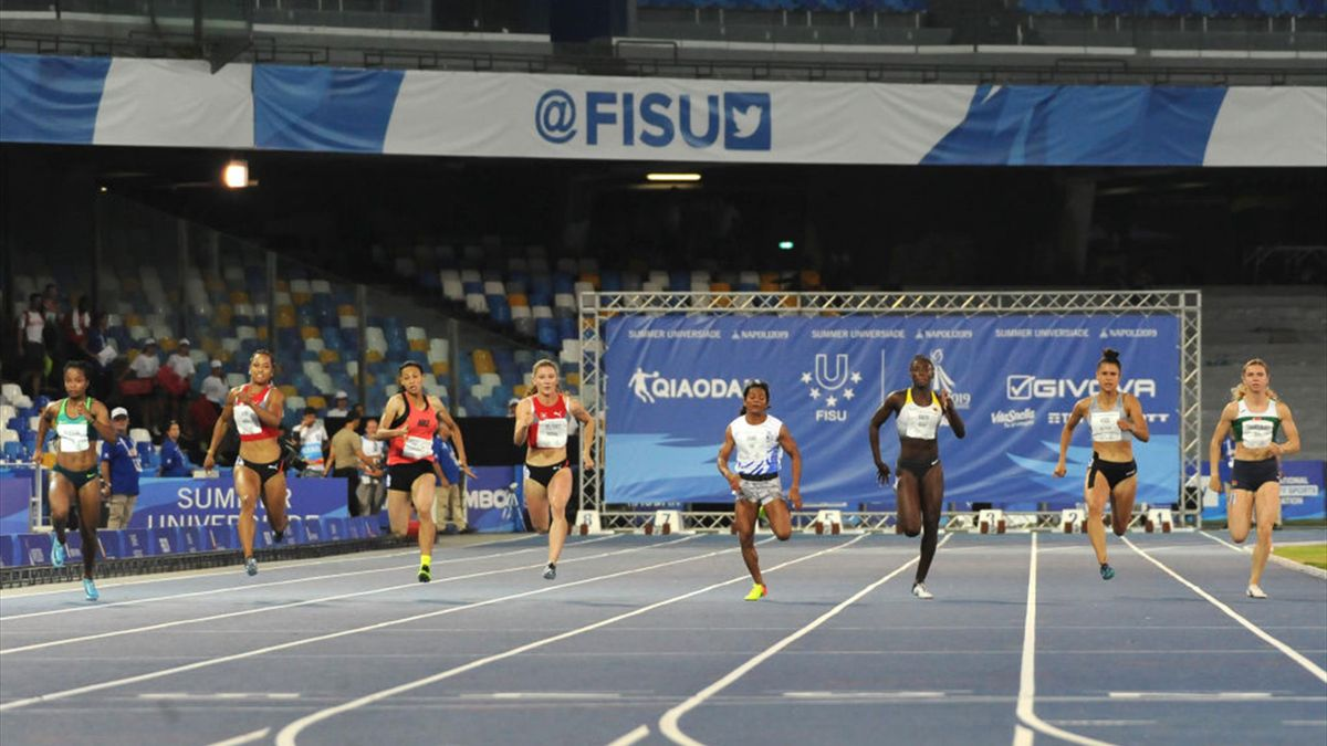 Double athletics gold for Brazil and Italy at 2019 FISU Summer Universiade in Naples