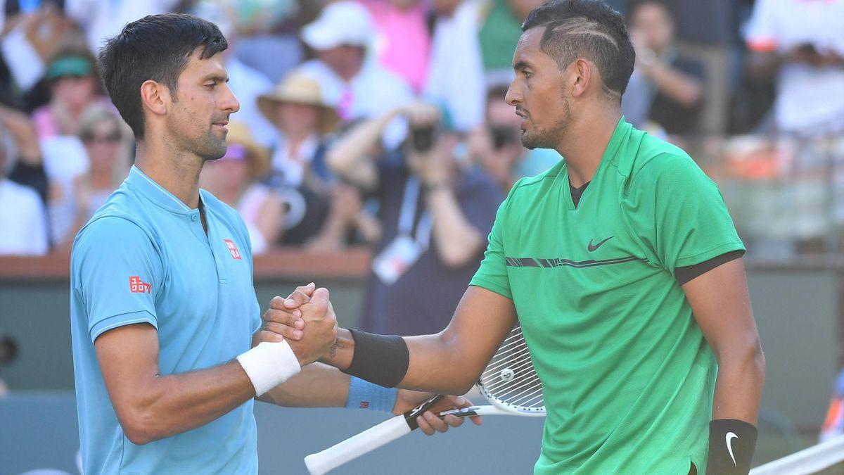 Kyrgios e Djokovic
