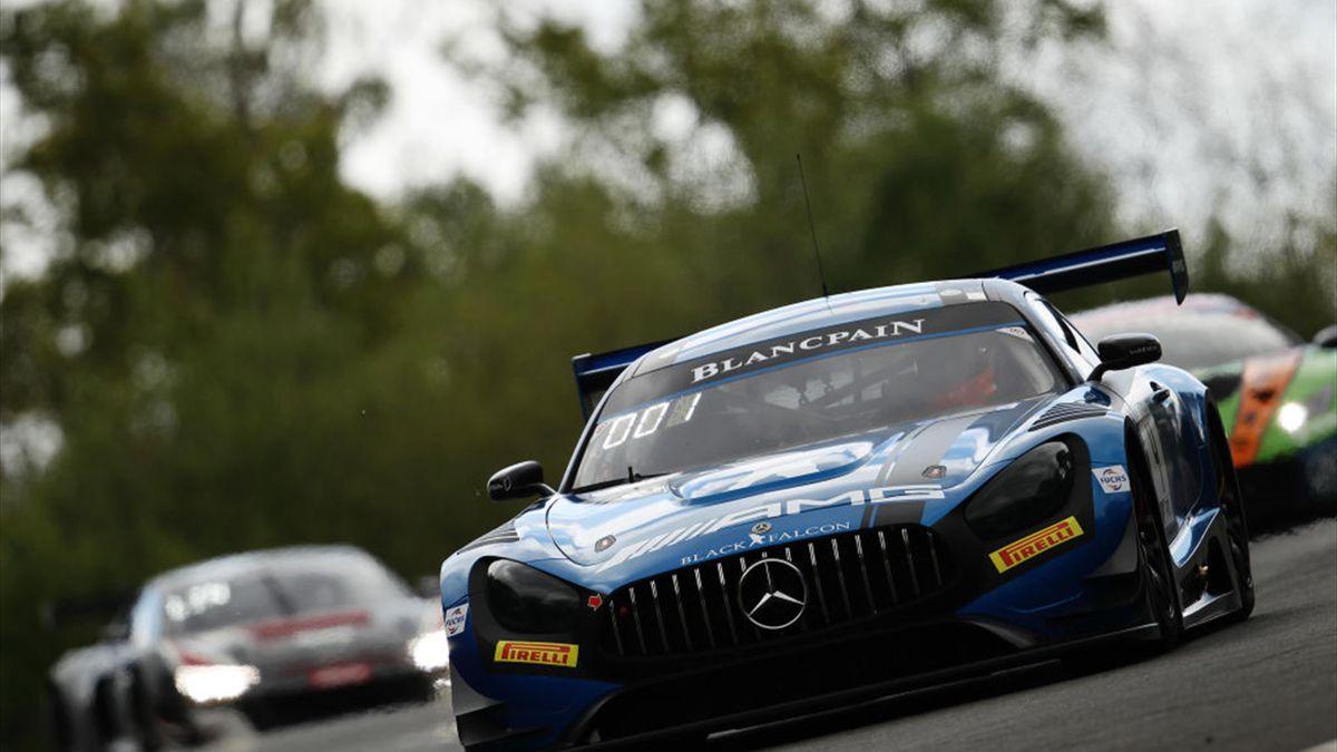 24 heures de Spa : pole position pour la Mercedes AMG-GT3 #4 Black Falcon