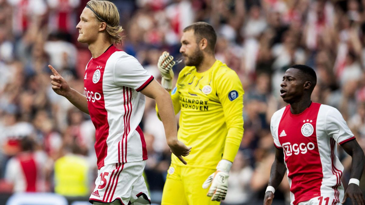 Football News Ajax Take Dutch Super Cup With 2 0 Win Over Psv Eindhoven Eurosport
