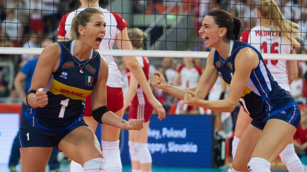 Eurovolley femenino: llega la recta final
