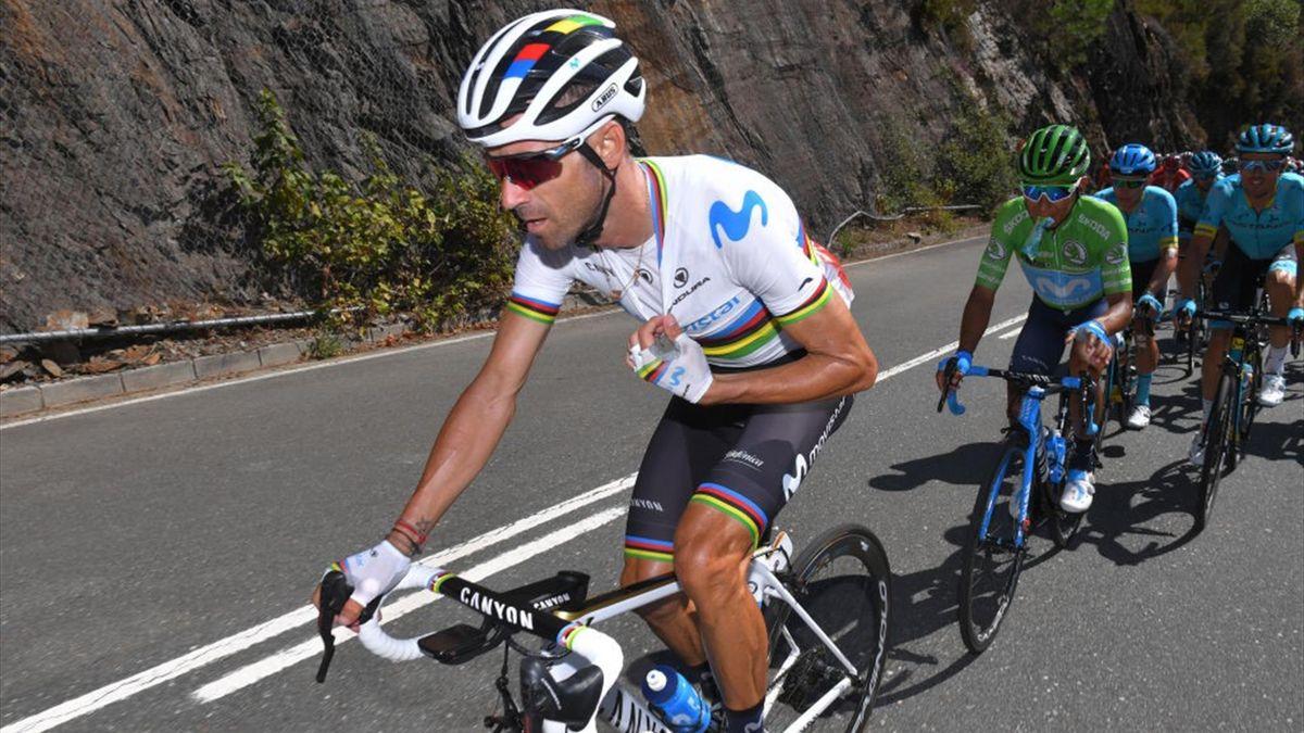 Valverde ataca etapa 15