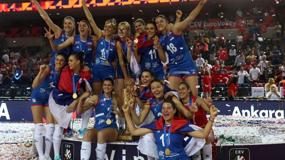 Volley, Europei femminili 2019: Serbia campione, Italia di bronzo