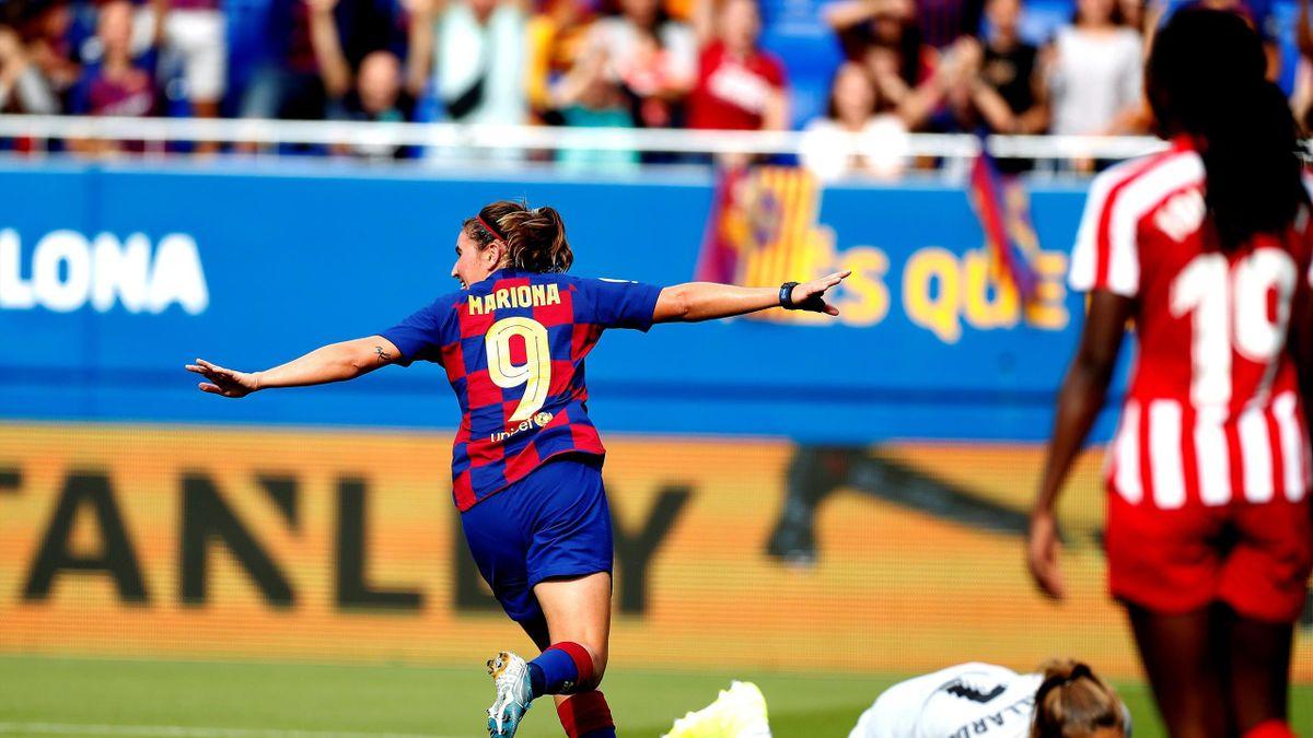El Barcelona golea al Atlético féminas