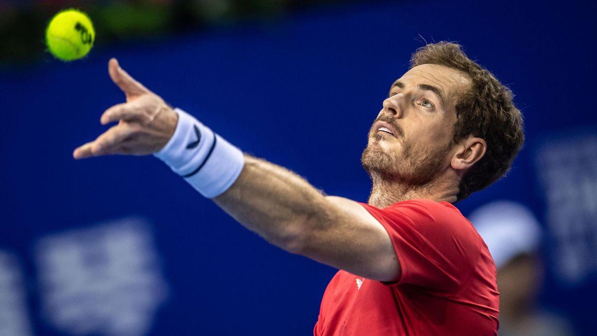 Andy Murray gana a Sandgren en Zhuhai
