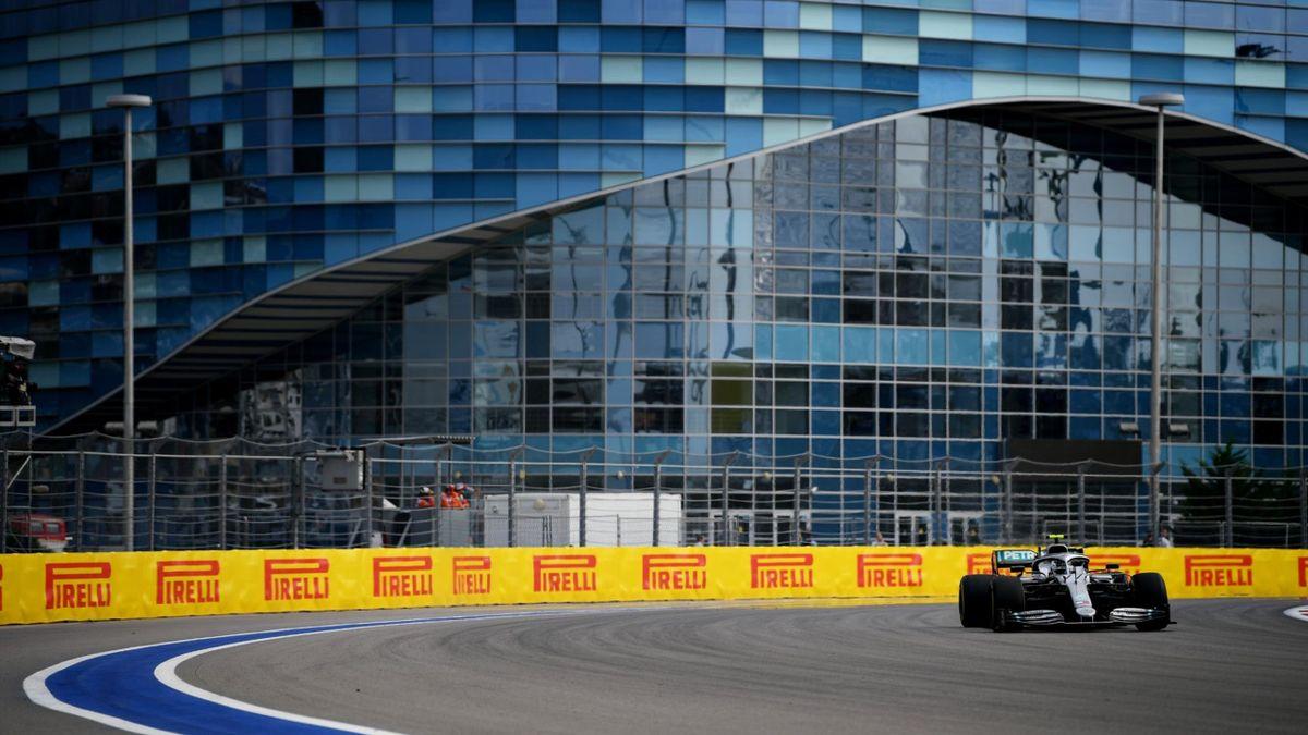 Valtteri Bottas (Mercedes) au Grand Prix de Russie 2019