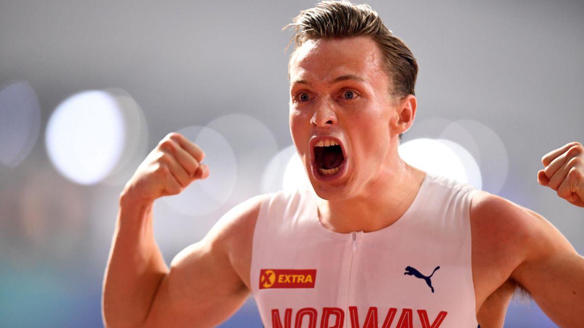 Norweger Karsten Warholm verteidigt seinen WM-Titel