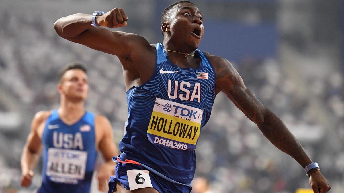 Grant Holloway gewinnt in 13,10 Sekunden Gold