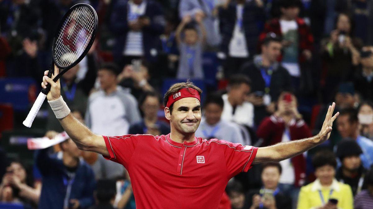 Roger Federer Shanghai
