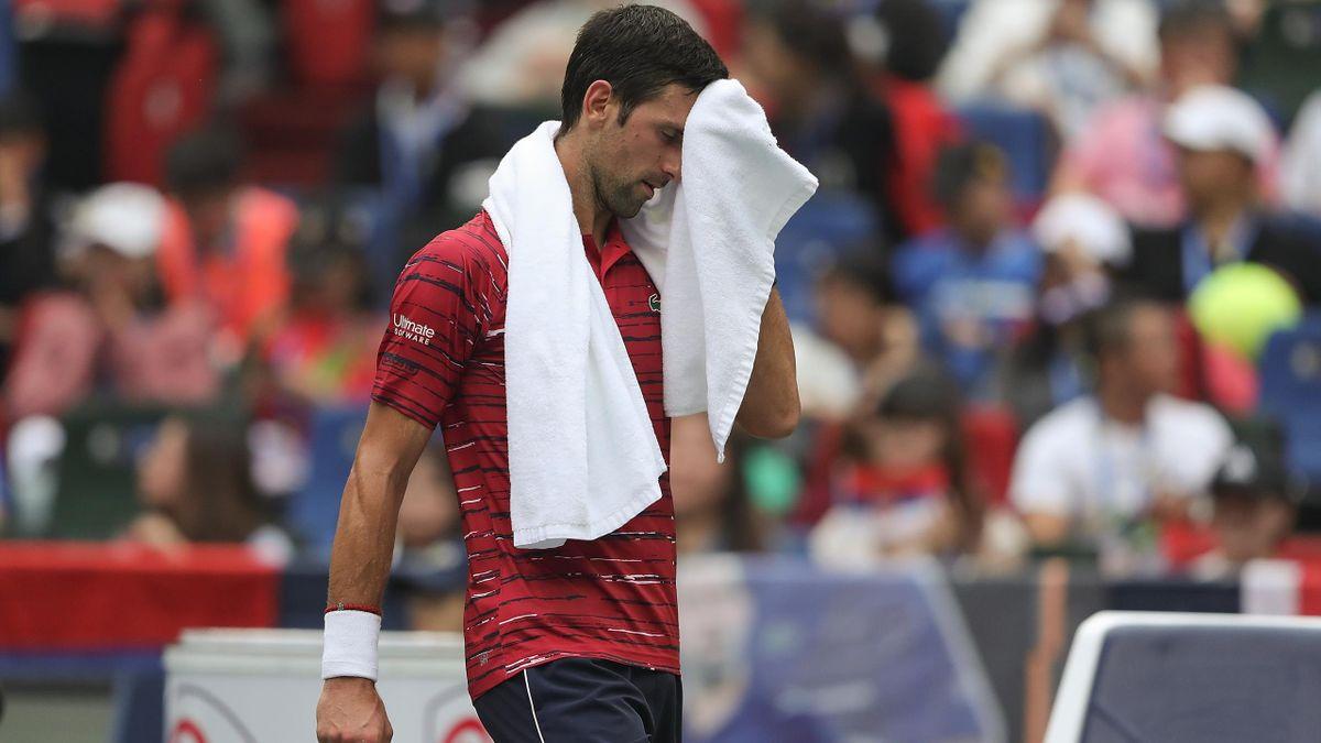 Novak Djokovic, derrota en el Masters 1000 de Shanghái