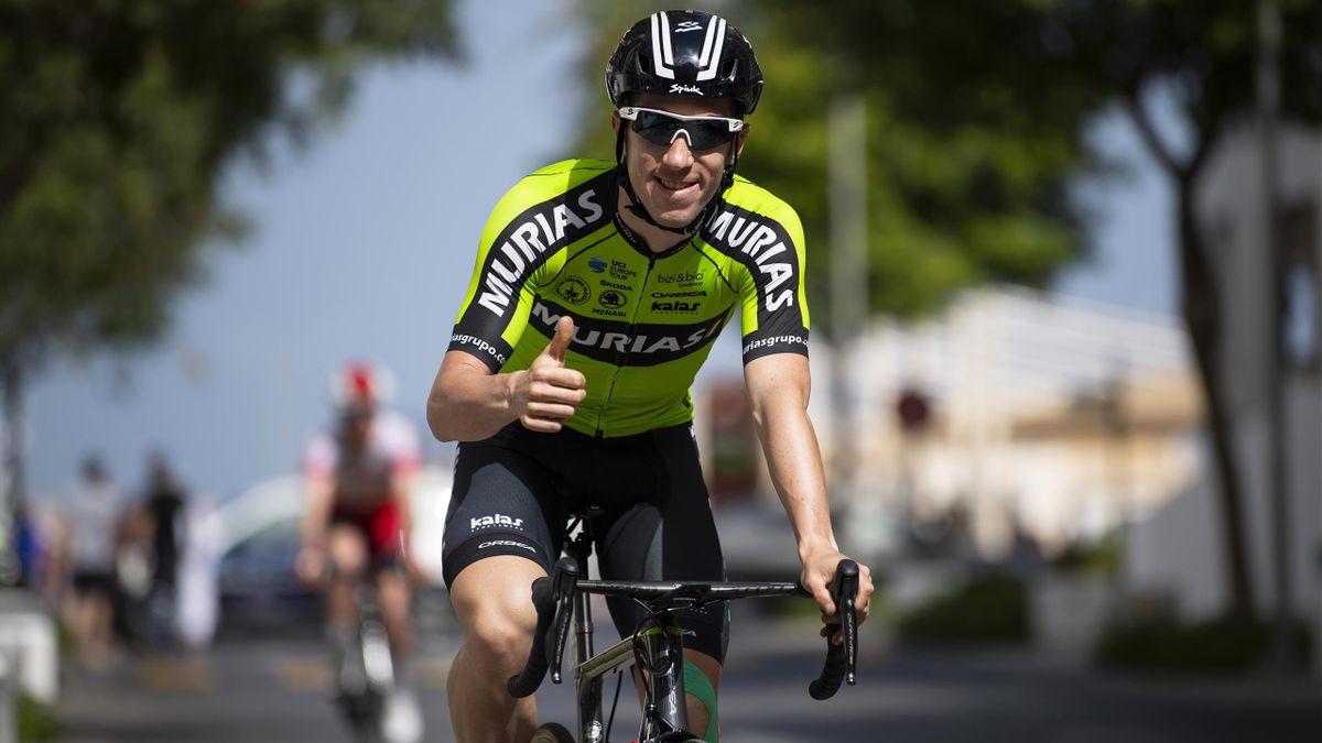 Sergio Rodríguez, ciclista del Euskadi-Murias