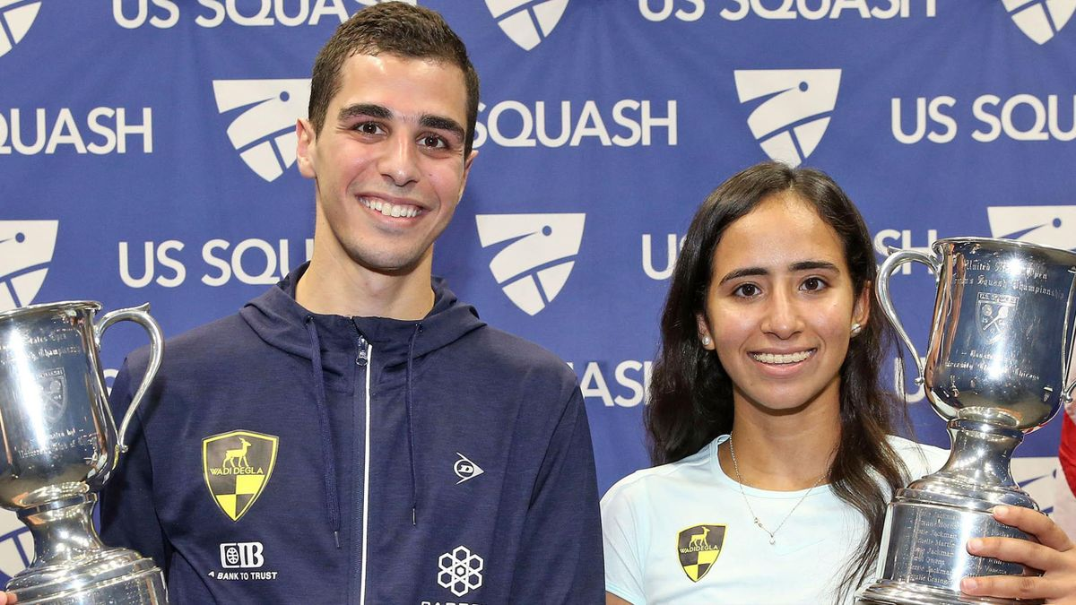 U.S. Open title joy for Gohar and Farag