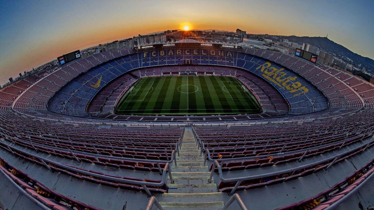 Camp Nou, imagen del estadio