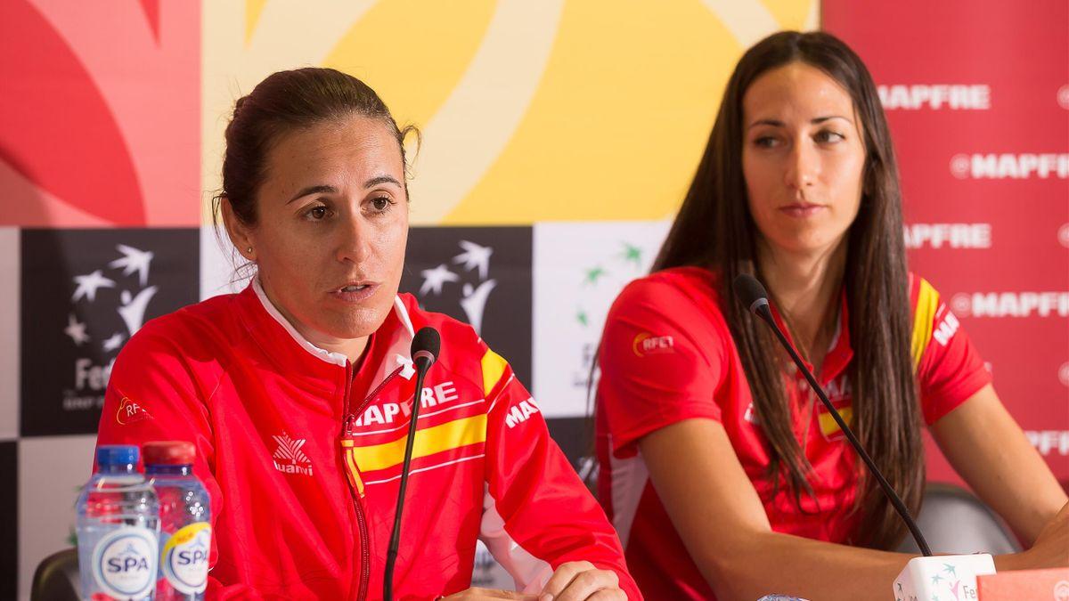 Anabel Medina Copa Federación España