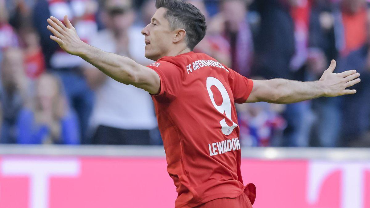 Robert Lewandowski stellt den nächsten Rekord ein