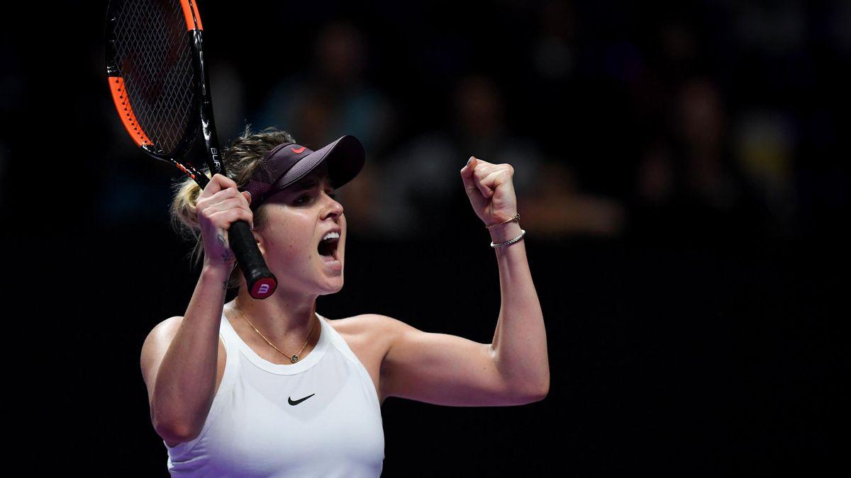 Svitolina gana en la primera jornada de la WTA Finals