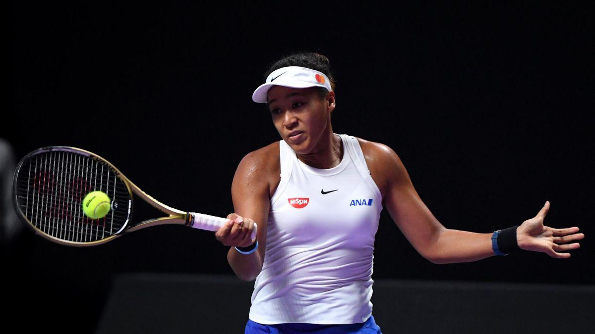 Naomi Osaka en las WTA Finals