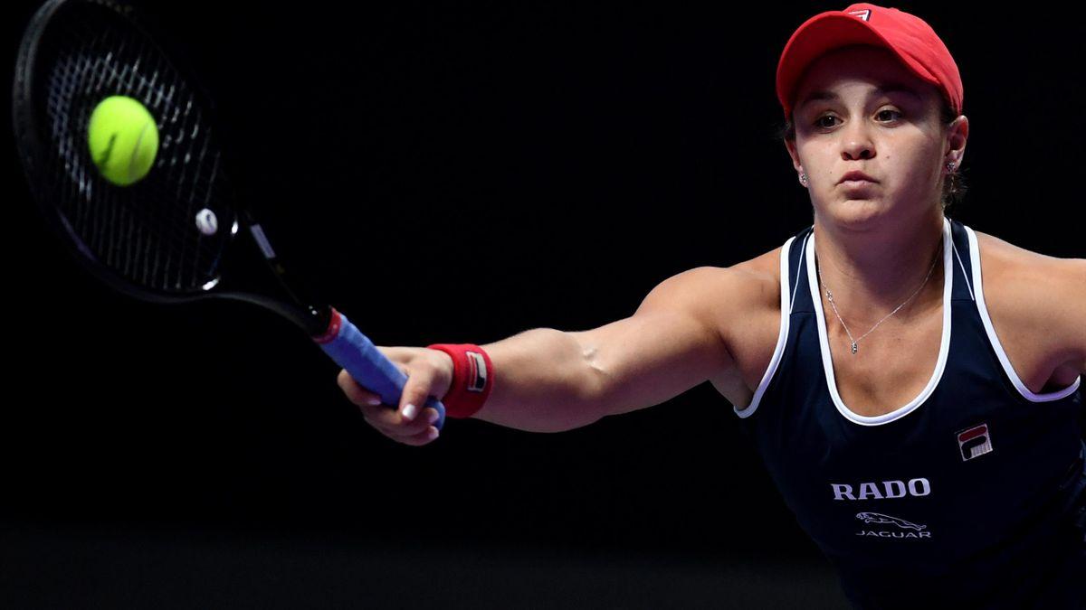 Ashleigh Barty steht im Halbfinale von Shenzhen