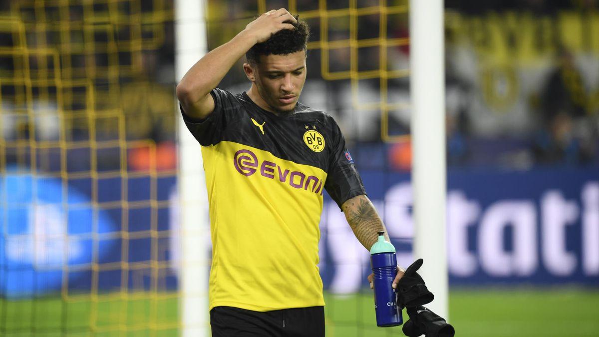 Borussia Dortmund bangt um Jadon Sancho