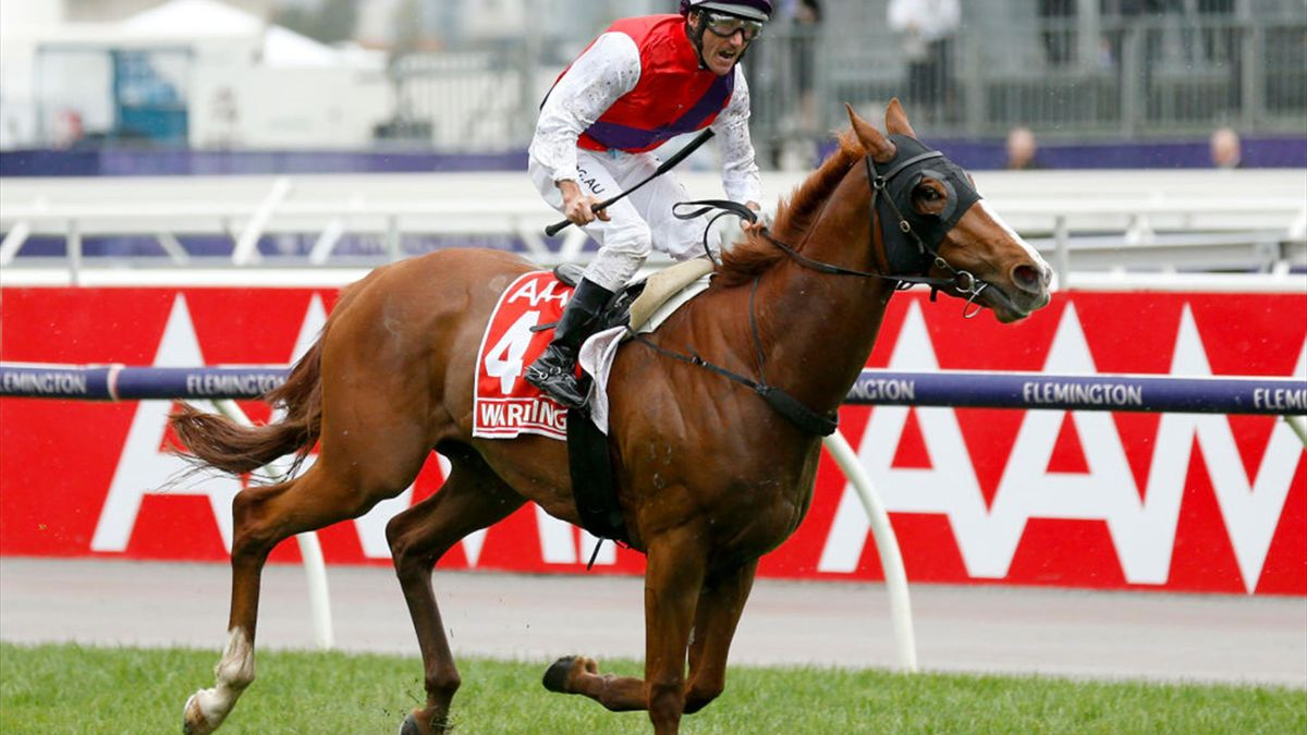 Oliver gewinnt mit Warning das Victoria Derby