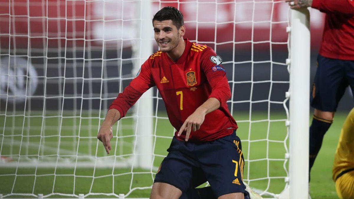 Gol Morata España-Malta