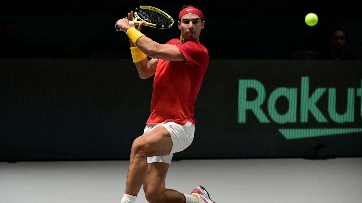 Rafa Nadal en la Davis 2019