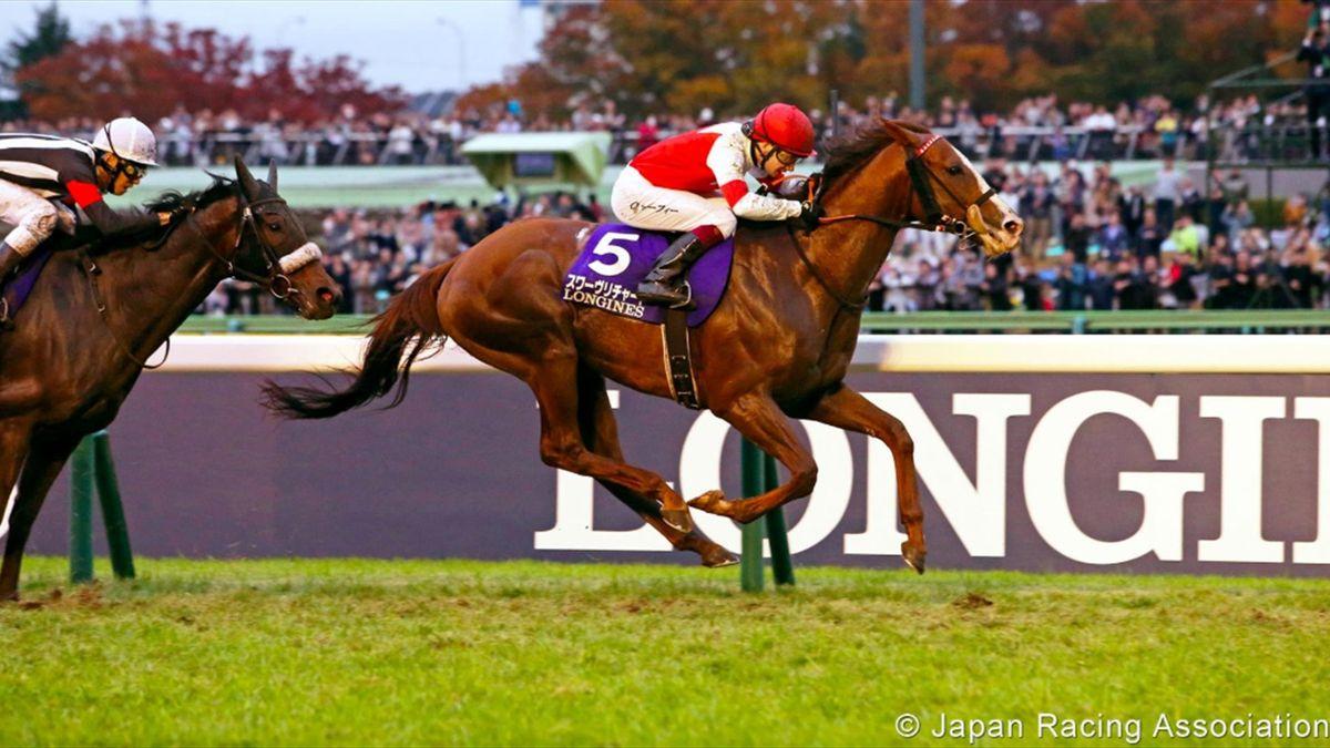 Suave Richard vainqueur de la Japan Cup, le nouvel opus d'Oisin Murphy