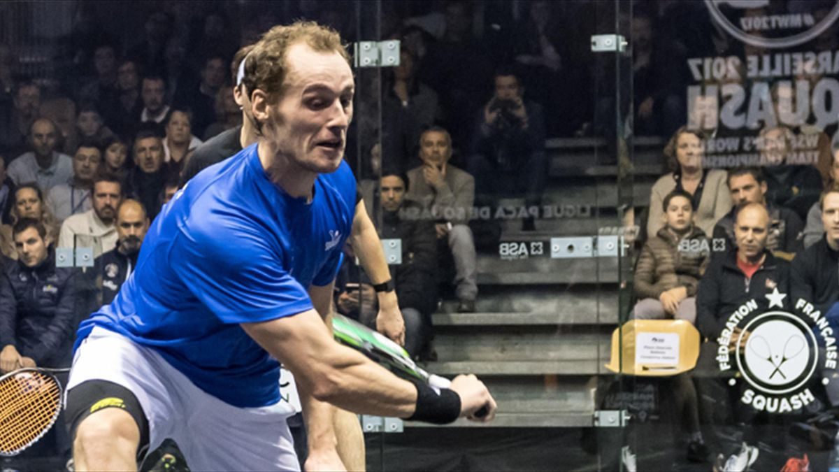 Gaultier to make return from injury at World Team Squash Championship