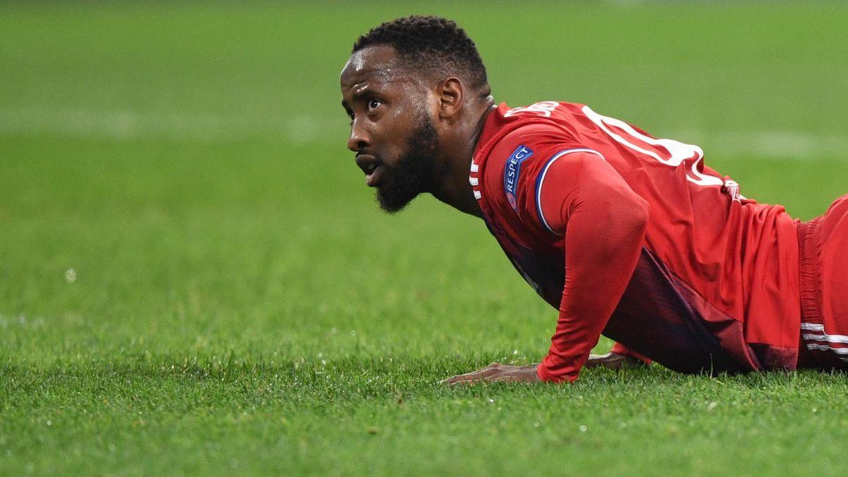 Moussa Dembélé avec Lyon, 2019