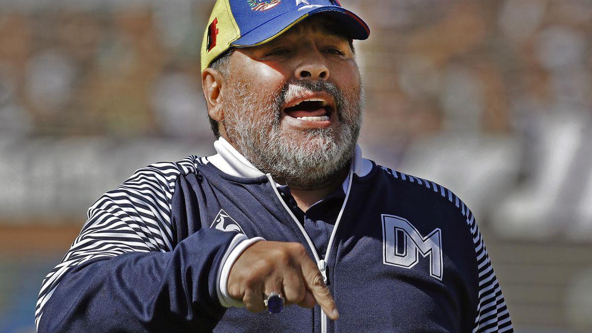 Maradona äußerte sich abfällig über einen Schiedsrichter
