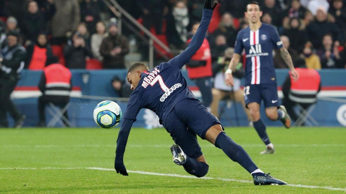 Mbappe PSG Nantes