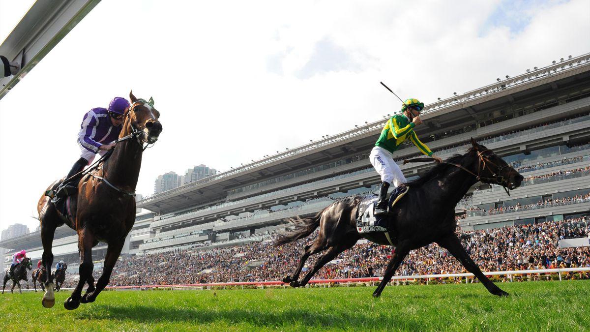 Moreira and Japan dominate Sunday's Hong Kong International Races at Sha Tin