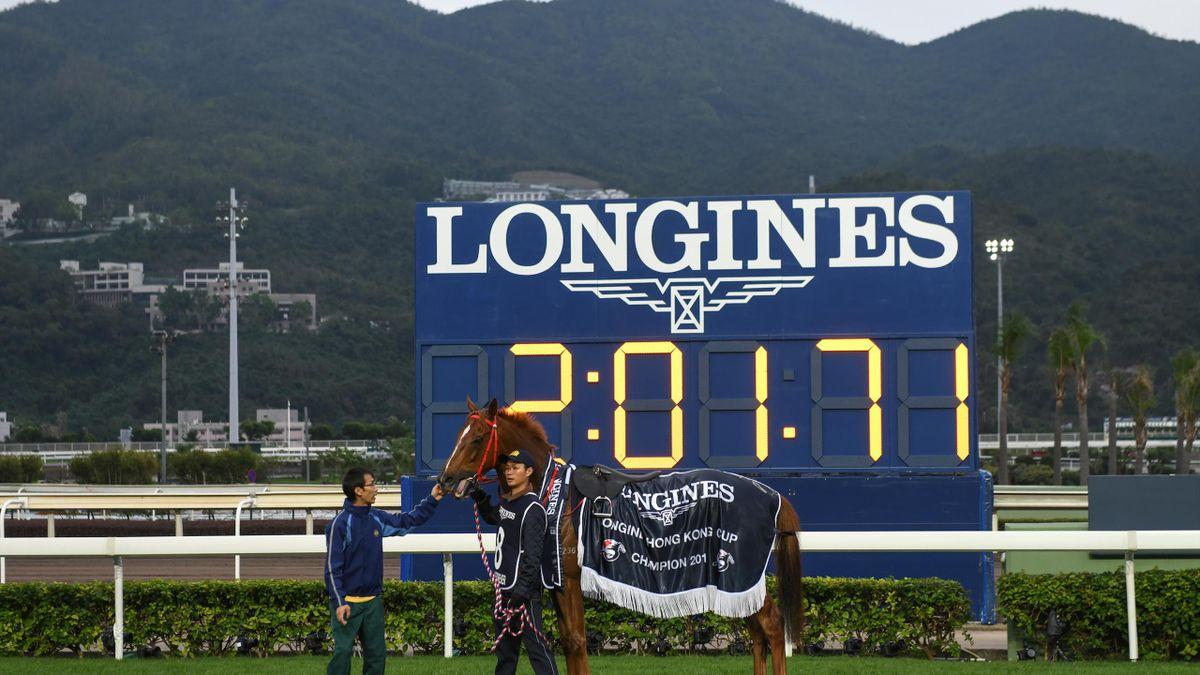 Win Bright conquista la Longines Hong Kong Cup