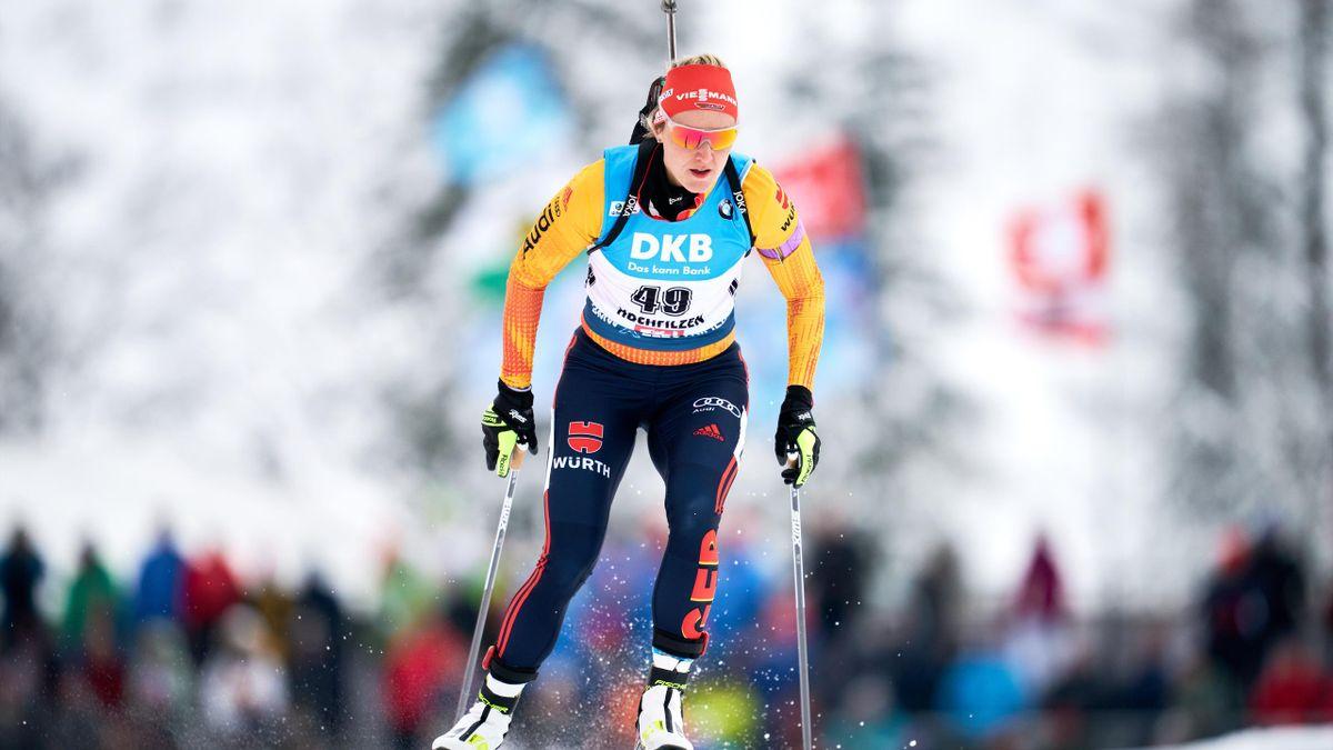 Denise Herrmann landet beim Weltcup auf Rang fünf