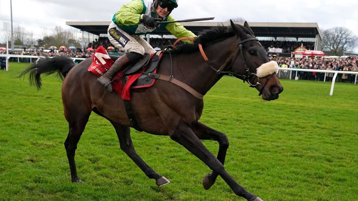 Clan Des Obeaux romps to back-to-back King George VI Chase wins at Kempton