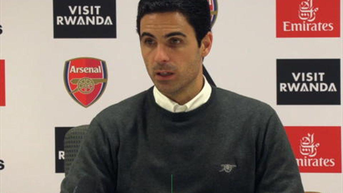 Arsenal - Arteta : ''On doit gagner tous nos matches''
