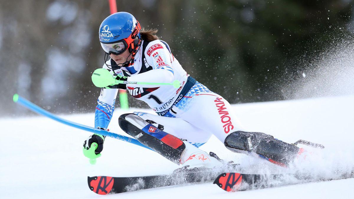 Petra Vlhova setzt sich im Slalom in Zagreb durch