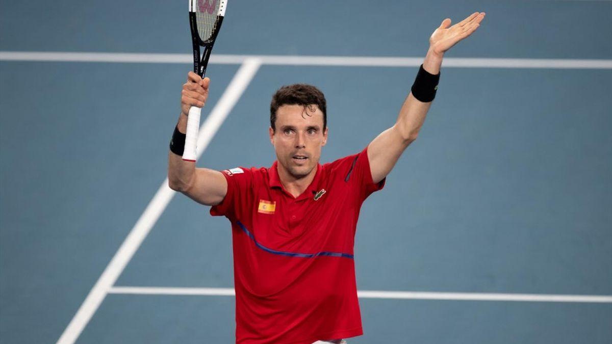 Roberto Bautista - ATP Cup 2020 à Sydney