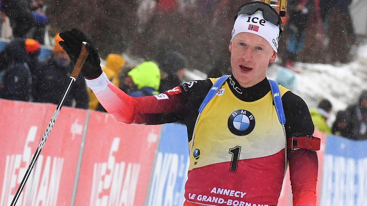 Biathlon: Bö nach Geburt seines Sohnes zurück im Weltcup