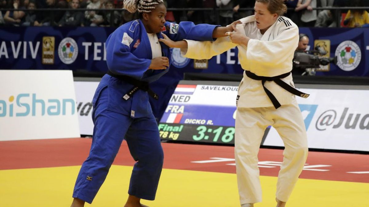 Grand Prix de Tel-Aviv : Romane Dicko s'impose chez les +78 kg